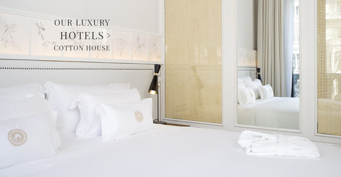 Hotel Bed Linen Collection Cotton House